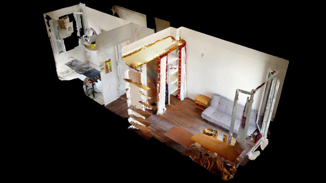 agence immobilière ouverte le samedi: 20 m², visite virtuelle interactive en ligne