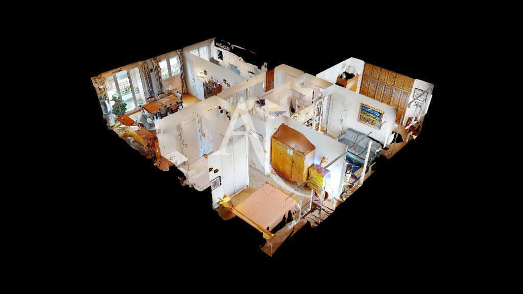achat appartement charenton: 4 pièces 83 m², vue 3d de l'appartement