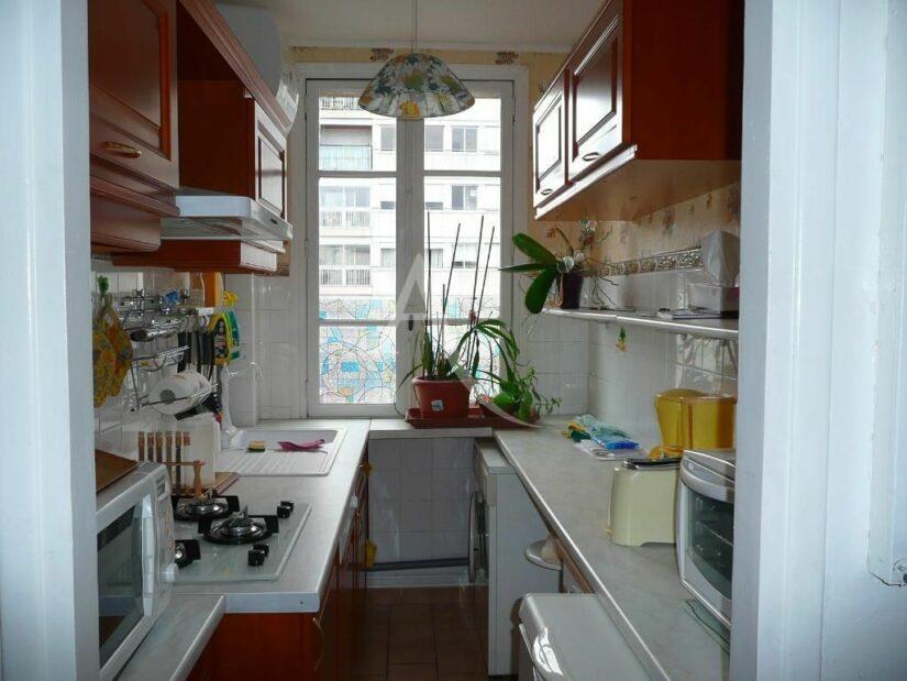 vente appartement charenton le pont: studio 26 m², cuisine séparée, aménagée et toute équipée, cente ville