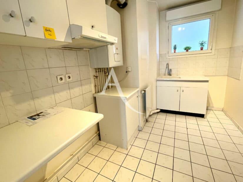 achat appartement charenton le pont: 3 pièces 62 m², cuisine aménagée de nombreux rangements