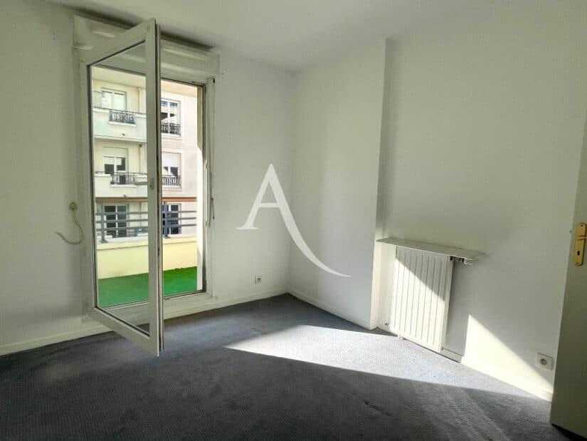 appartement à vendre charenton: 3 pièces 62 m², 1° chambre, balcon, moquette grise