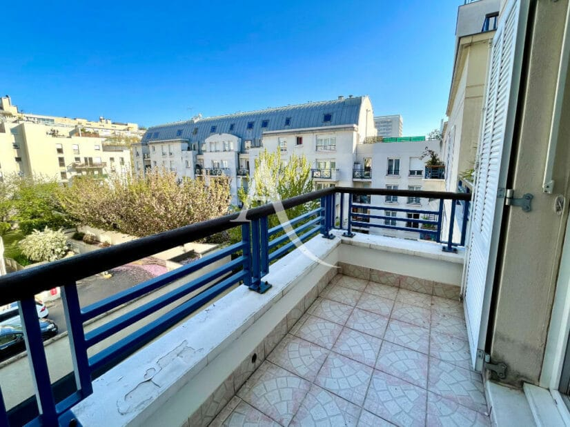 achat appartement charenton: 3 pièces 62 m², séjour avec  accès à une grande terrasse