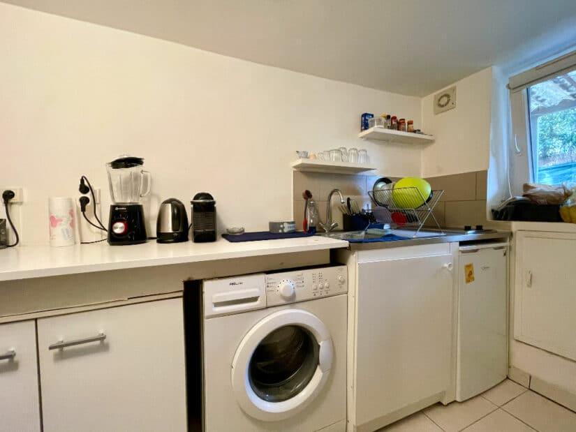 vente appartement alfortville: 1 pièce 20 m², coin cuisine aménagée