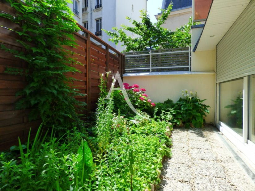 charenton le pont immobilier: 4 pièces 90 m²,  jardin 20 m² et cave