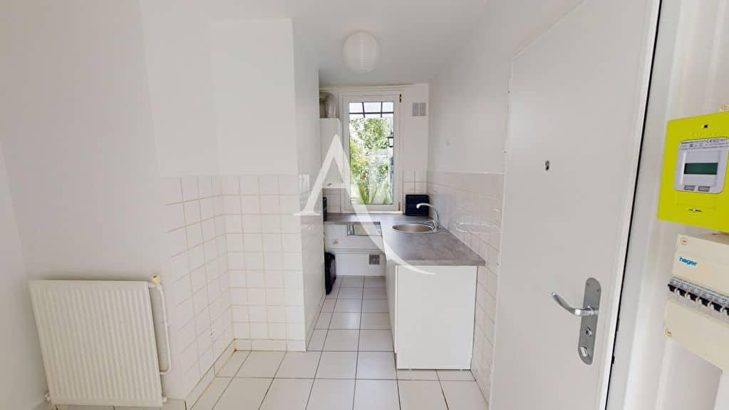 agence immobilière alfortville: 2 pièces 39 m², cuisine indépendante avec plan de travail