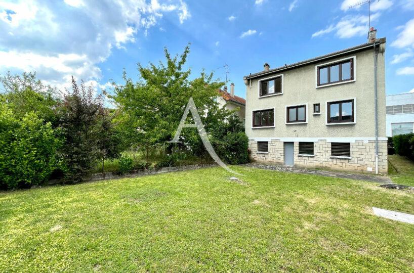 agence immobilière maison alfort: 5 pièces 111 m², terrain 396 m², résidence calme, proche des bords de marne,