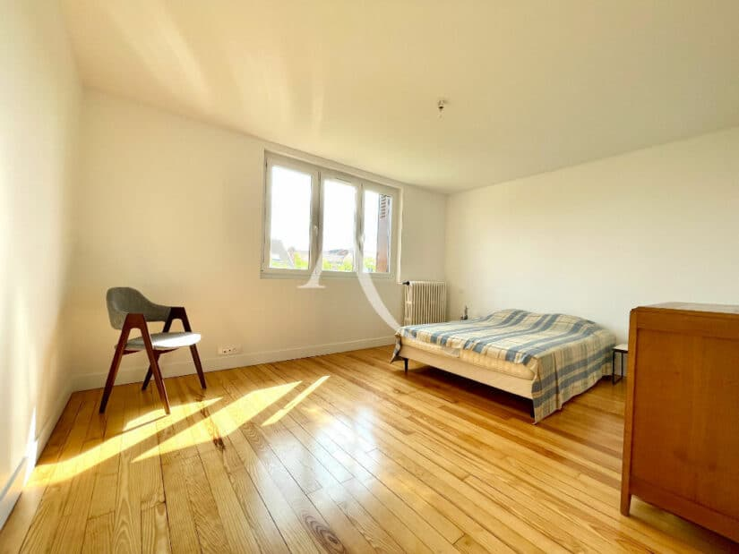 vente maison à maisons-alfort: 5 pièces 111 m², chambre à coucher mulineuse, lit double