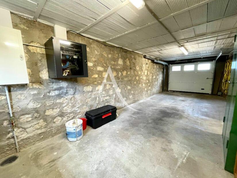maison alfort stade: 5 pièces 111 m², au sous-sol grand garage, porte électrique