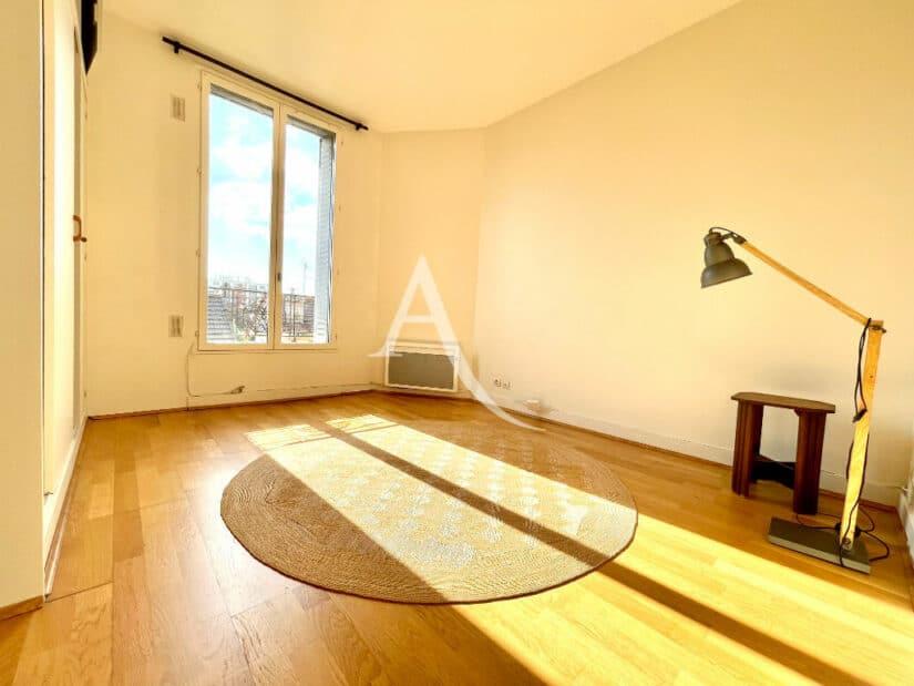 vente appartement maisons alfort: 2 pièces 35 m², beau séjour avec parquet en chêne
