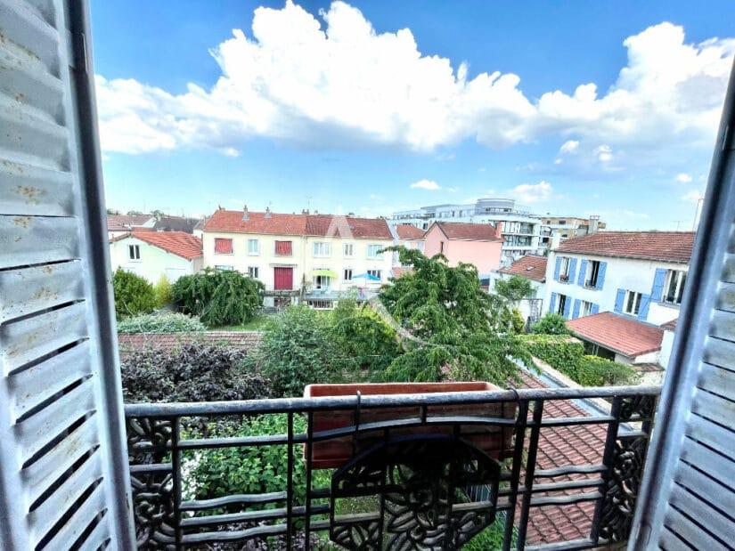 vente appartement maisons-alfort: 2 pièces 35 m², vue très agréable et dégagée