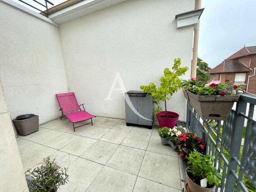 vente appartement maisons alfort: 4 pièces 91 m², terrasse sur le toit, orientation sud/ouest