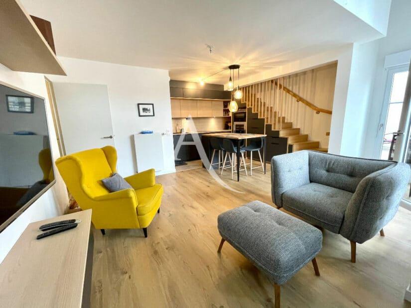 vente appartement maison alfort: 4 pièces 91 m², cuisine ouverte sur le séjour
