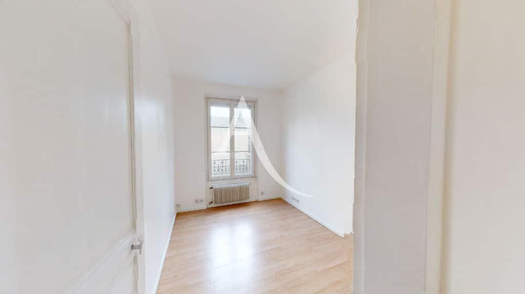 achat appartement maison alfort: 2 pièces 32 m², chambre à coucher lumineuse
