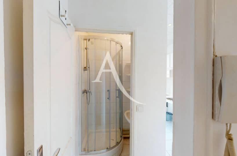 vente appartement maisons-alfort: 2 pièces 32 m², salle d'eau avec cabine de douche