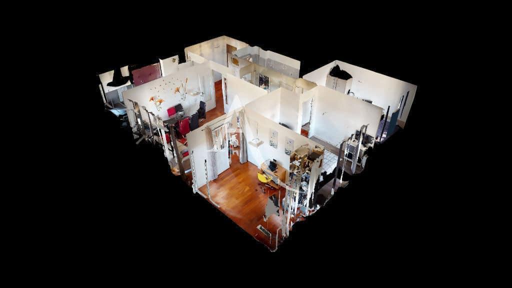 agences immobilières maisons alfort: 4 pièces 73 m², plan en 3d et visite virtuelle