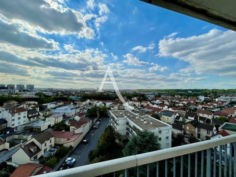 appartement maison alfort: 4 pièces 73 m², terrasse avec vue exceptionnelle sur paris