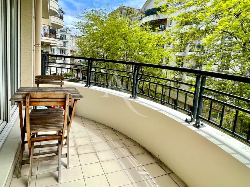appartement à vendre à charenton: 3 pièces 65 m² ensoleillé avec terrasse