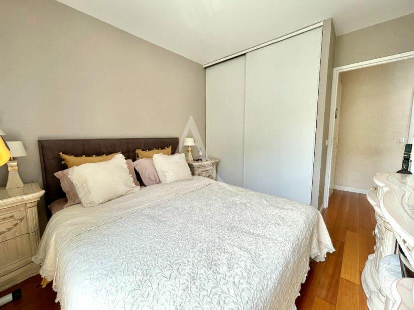 achat appartement charenton: 3 pièces 65 m², 2° chambre à couché avec penderie