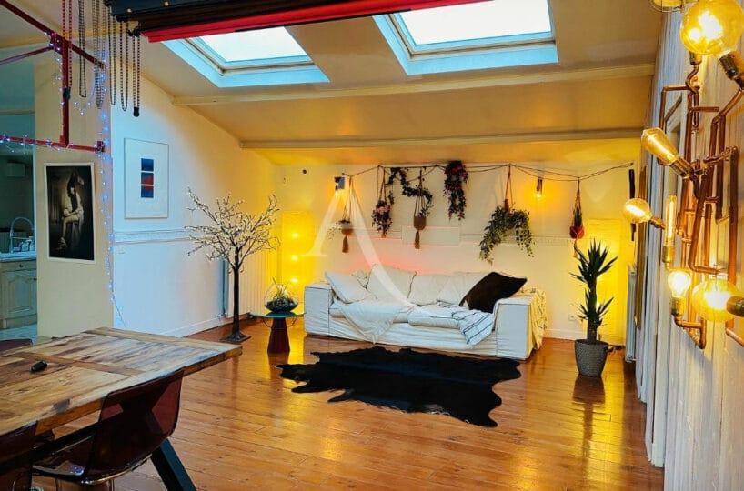 location appartement val de marne: 4 pièces 144 m², magnifique pièce à vivre de 54 m²