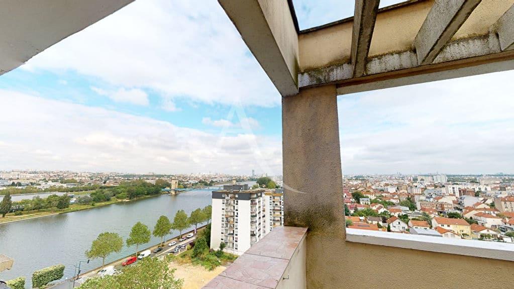 agence alfortville: 2 pièces 54 m², terrasse de 35 m², vue dégagée