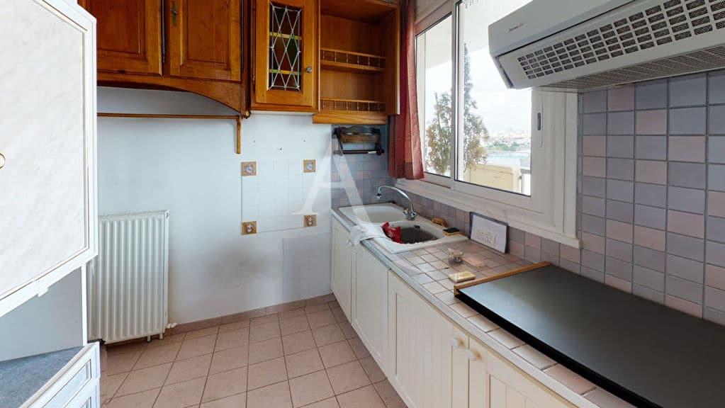 alfortville vente appartement: 2 pièces 54 m², cuisine aménagée et ouverte sur le séjour