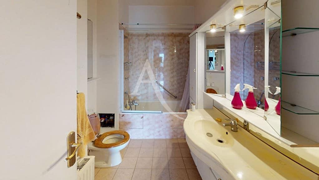 immobilier neuf alfortville: 2 pièces 54 m², salle de bain avec baignoire et wc
