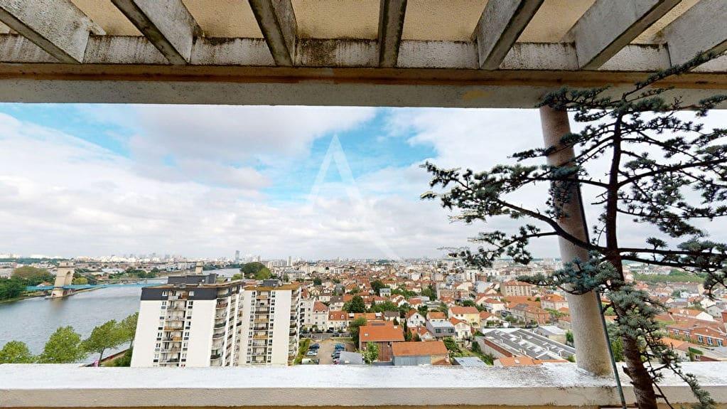 estimation appartement alfortville: 2 pièces 54 m², vue panoramique du 12° étage