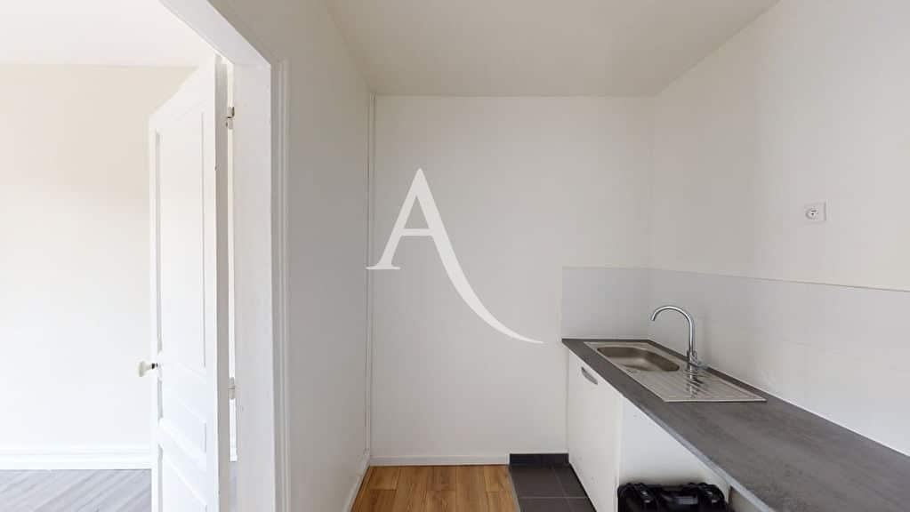 vente appartement 2 pieces alfortville: 2 pièces 36 m², cuisine, petit plan de travail