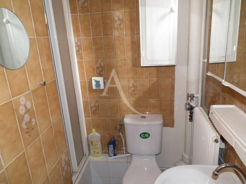 location appartement 2 pièces maisons alfort 94700: 2 pièces 37 m², salle d'eau avec douche et wc