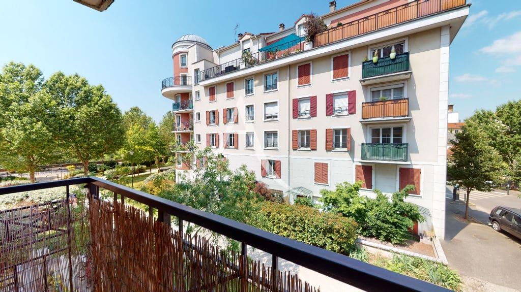 appartement alfortville location: 2 pièces 44 m² avec balcon, immeuble récent appolonia