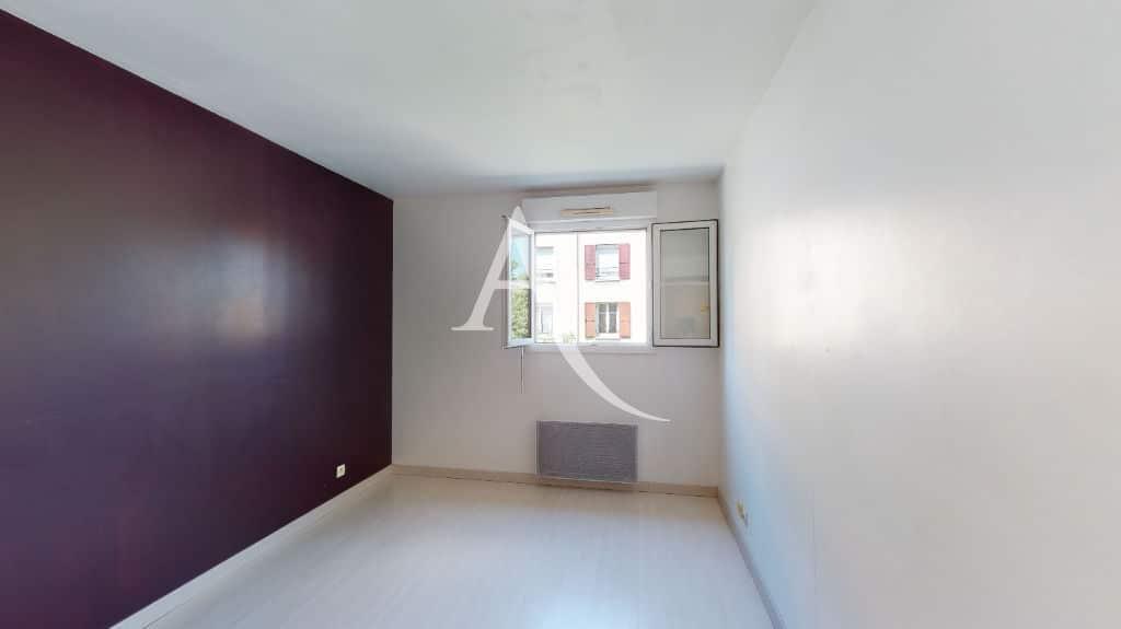 agence immobilière alfortville: 2 pièces 44 m², chambre à coucher lumineuse et au calme