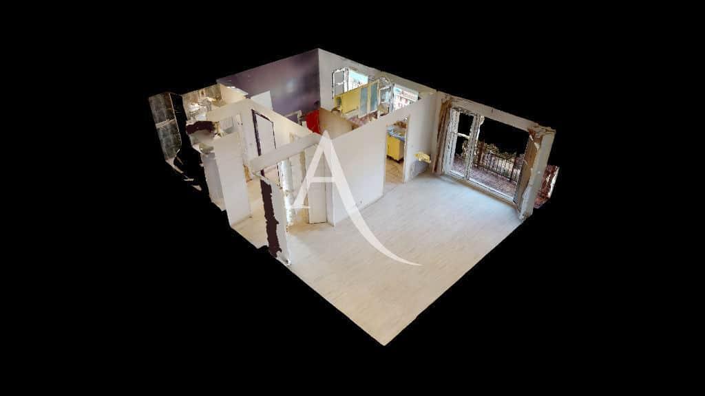 estimation appartement alfortville: 2 pièces 44 m², plan en 3d et visite virtuelle