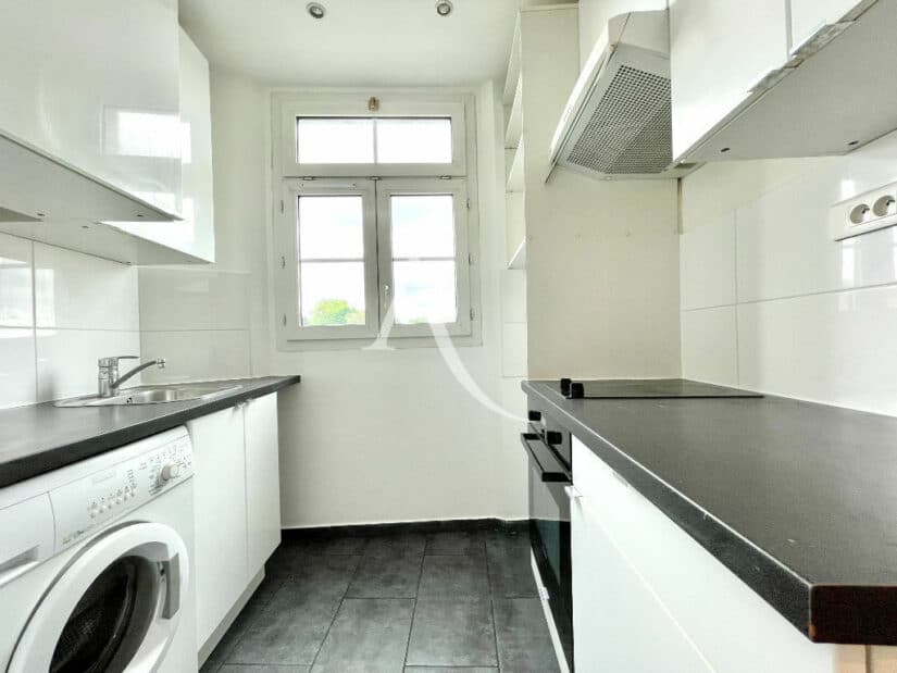 achat vente appartement: 2 pièces 36 m², cuisine indépendante aménagée et équipée