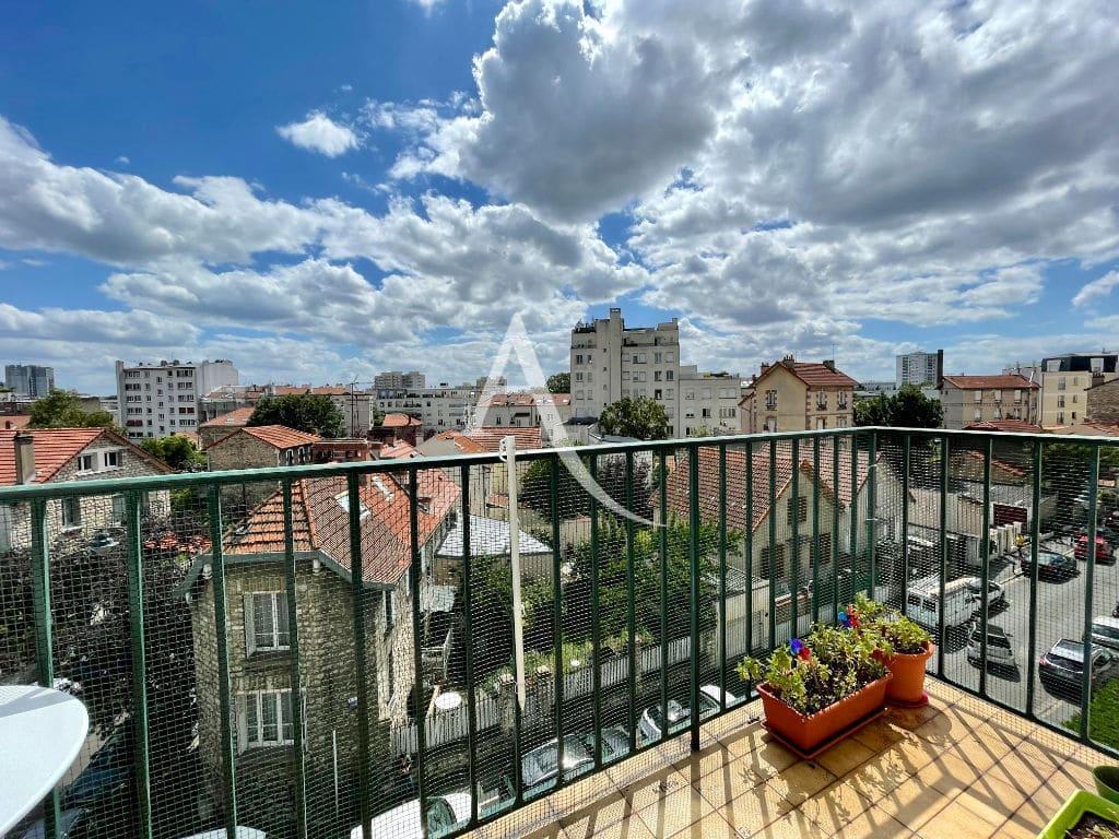 agence immobilière maison alfort: appartement 3 pièces 68 m² à vendre, 4° étage vue dégagée
