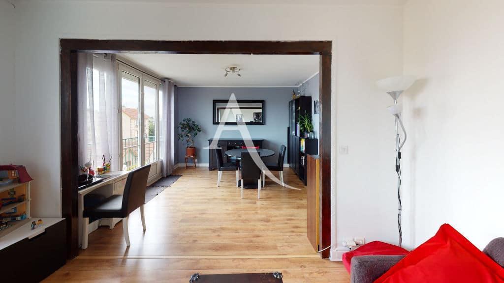 vente appartement maisons alfort: appartement 3 pièces 68 m², séjour double lumineux
