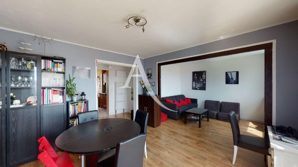 appartement à vendre maisons-alfort: 3 pièces 68 m², double séjour avec coin salle à manger