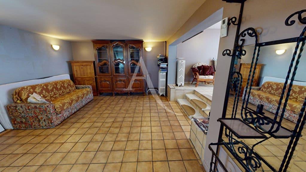 vendre maison alfortville: 5 pièces 90 m², salon / séjour ouvert, carrelage au sol