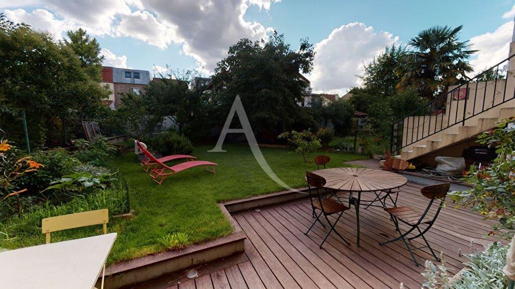 appartement a vendre alfortville: 5 pièces 111 m², avec jardin 159 m² et terrasse