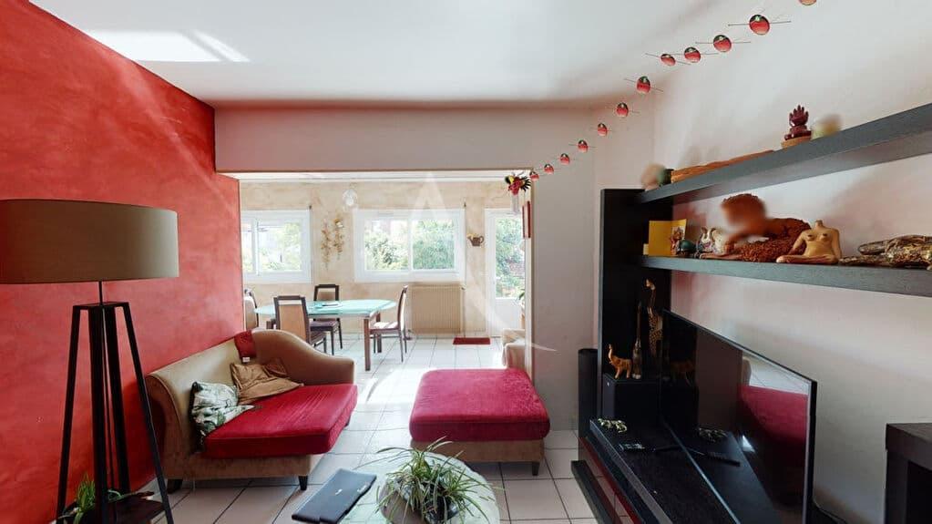appartement à vendre à alfortville: 5 pièces 111 m², coin salon de la grande pièce à vivre