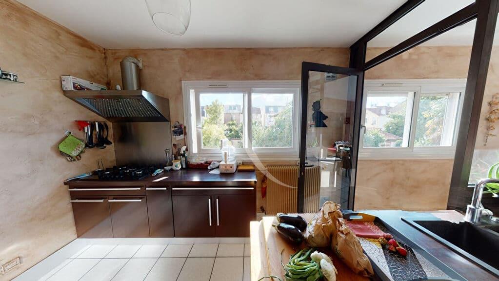 alfortville vente appartement: 5 pièces 111 m², cuisine aménagée et équipée