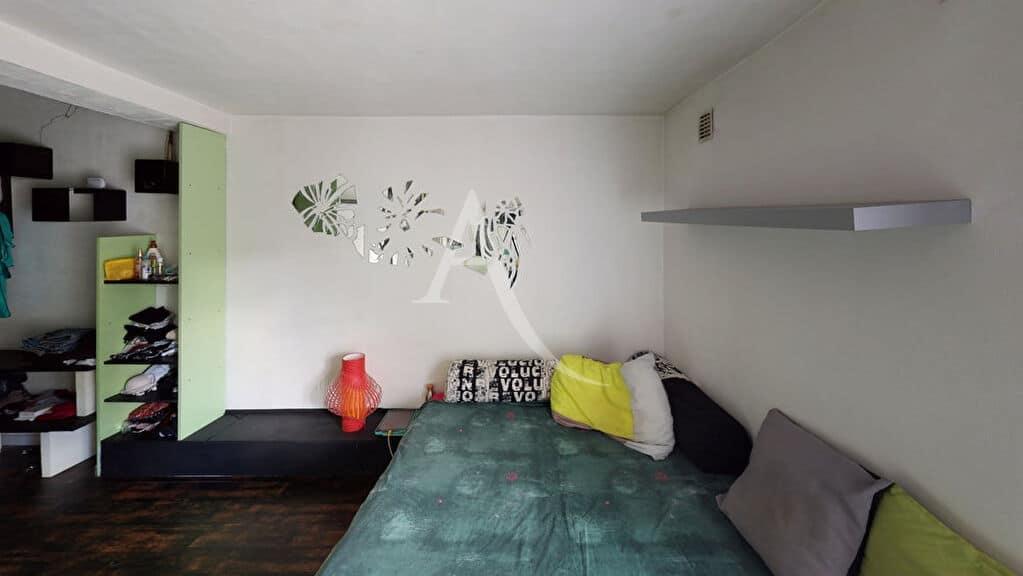 estimation appartement alfortville: 5 pièces 111 m², chambre 1 au rez de jardin, lit double