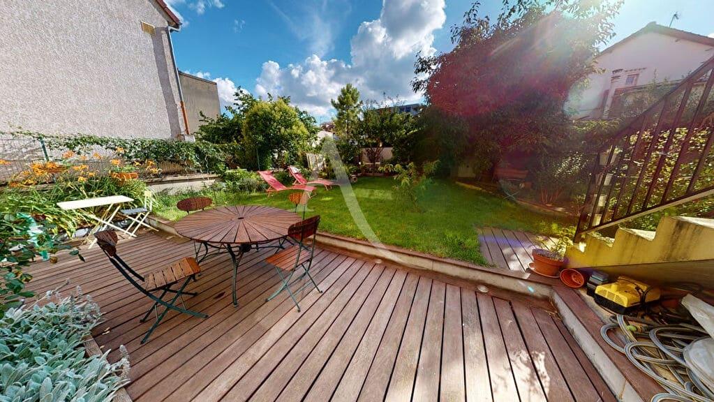 acheter à alfortville: 5 pièces 111 m², belle terrasse sur jardin 159 m²