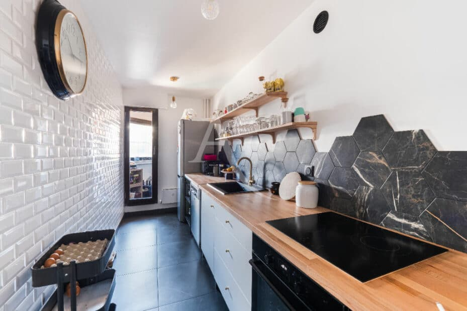 appartement à vendre val marne: 4 pièces 83 m², cuisine indépendante aménagée et équipée