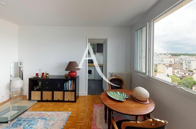 achat appartement alfortville: 2 pièces 41 m², au 7e étage (ascenseur) vue dégagée