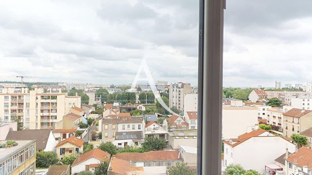 vente appartement 2 pieces alfortville: 2 pièces 41 m², superbe vue vue dégagée depuis le 7e étage
