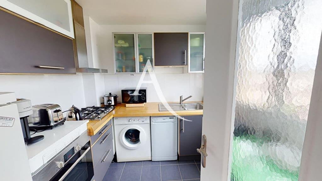 appartement a vendre alfortville: 2 pièces 41 m², cuisine indépendante aménagée et équipée