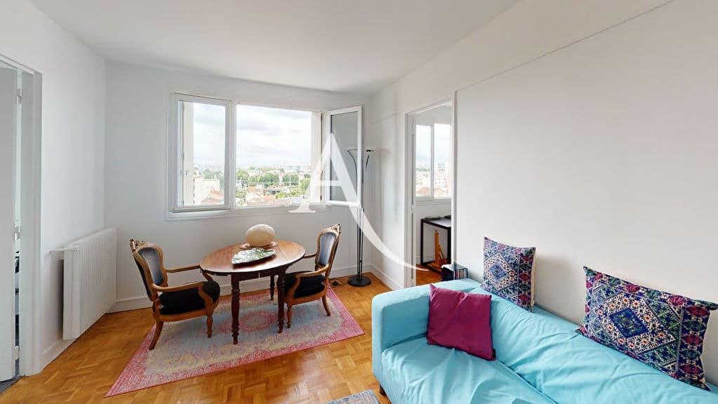 appartement à vendre à alfortville: 2 pièces 41 m², séjour vue dégagée