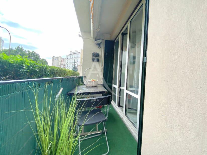 appartement à vendre charenton: 3 pièces 66 m², balcon 5 m² sans vis à vis
