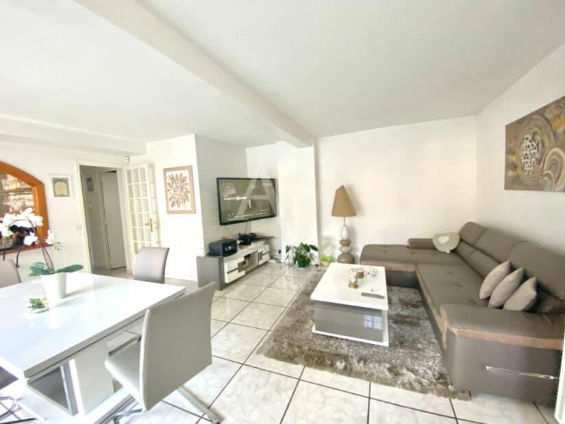 appartement à vendre à charenton-le-pont: 3 pièces 66 m², double séjour très lumineux