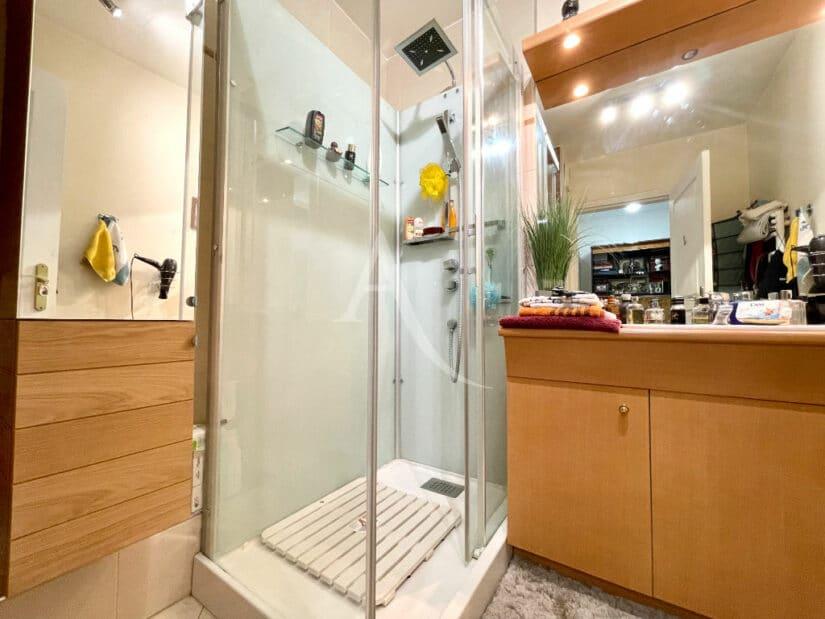 achat appartement charenton le pont: 3 pièces 71 m², salle d'eau avec douche massante